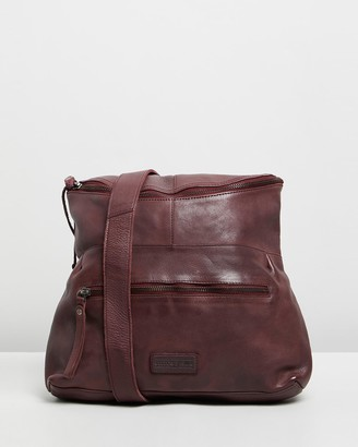 Stitch & Hide - Women's Red Leather bags - Avalon Bag - Size One Size at The Iconic
