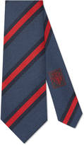 Gucci Regimental stripe silk cotton tie
