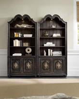 Hooker Furniture VETRANO BUNCHING BOOKCASE