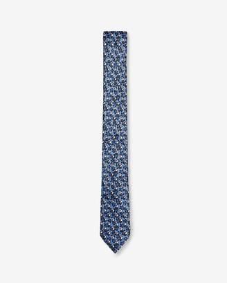 Express Skinny Tucan Print Tie