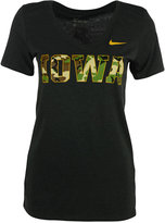 Nike Women's Iowa Hawkeyes Camo Hook T-Shirt