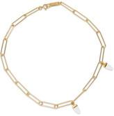 Isabel Marant Gold-tone Bone Necklace