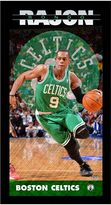 "Steiner Sports Boston Celtics Rajon Rondo 10"" x 20"" Player Profile Wall Art"