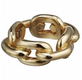 JENNIFER FISHER JEWELRY XL Chain Link Ring