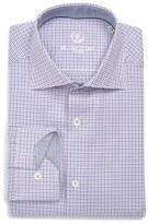 Bugatchi Men's Trim Fit Graphic Dress Shirt