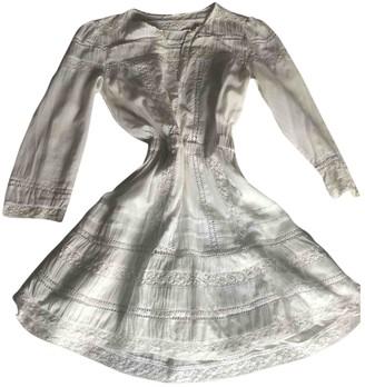 Tularosa White Cotton Dress for Women