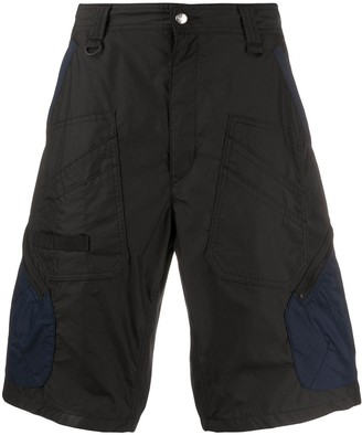 White Mountaineering Two-Tone Cargo Shorts