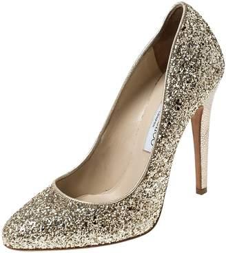 Jimmy Choo \N Gold Glitter Heels