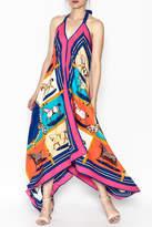 Miss Scarlett Boutique Equestrian Silk Halter Dress