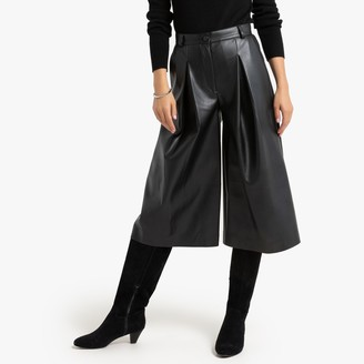 La Redoute Collections Faux Leather Culottes