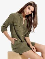 Lucky Brand Military Shirt Dress