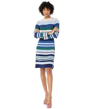 Sportmax Pau Knitted Striped Dress