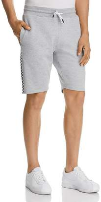 Sovereign Code Official Checker-Trimmed Sweat Shorts