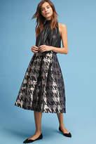 Eliza J Jacquard Houndstooth Skirt