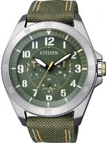 Citizen Eco-Drive Men's Dial Watch in Stainless Steel