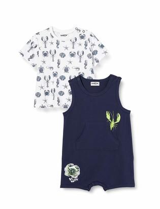 MEK Baby Boys' Compl.2pz J.pagliaccetto+t-Shirt M/c Clothing Set