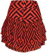 Pleated Mini Skirt Shopstyle Uk