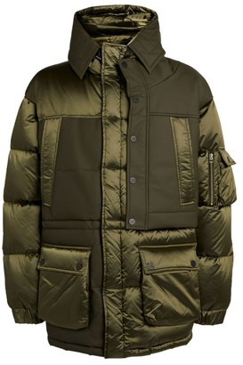 Feng Chen Wang Panelled Padded Jacket