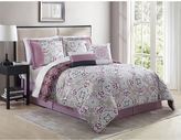 Shabby 6-Piece Comforter Set in Mauve