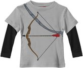 City Threads Crossbow 2Fer (Baby) - Road Gray-3-6 Months