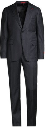 Isaia Pinstripe Timeless Wool Suit
