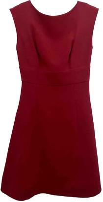 Miu Miu Red Viscose Dresses