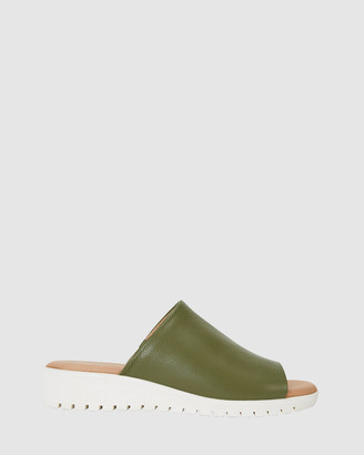 Sandler - Women's Green Sandals - Fate - Size One Size, 37 at The Iconic