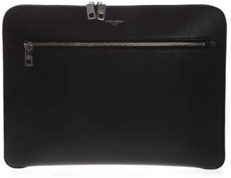 Dolce & Gabbana Zipped Laptop Case