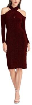 Thumbnail for your product : Rachel Roy Simone Crisscross-Halter Sheath Dress