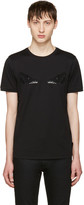 Fendi Black Sequin bag Bug T-shirt
