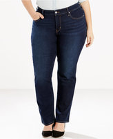 Levi's Plus Size 314 Shaping Straight Leg Jeans