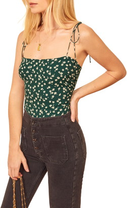 Reformation Lupe Floral Print Camisole