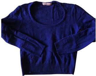 Erotokritos Blue Wool Knitwear for Women