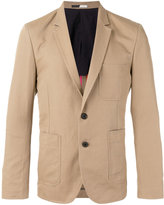 Paul Smith patch pocket blazer - men - Cotton/Linen/Flax/Polyester - 36