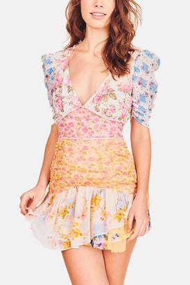 LoveShackFancy Picnic Patchwork Arlo Dress