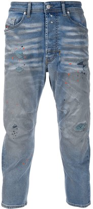 Diesel Narrot cropped carrot fit jeans