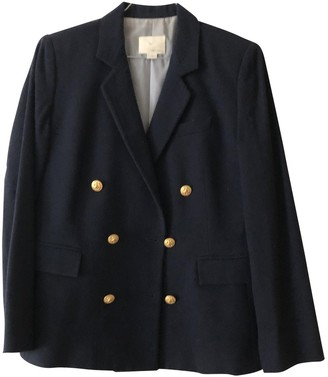 Band Of Outsiders Blue Wool Jacket for Women