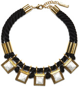 Vince Camuto Cord Stone Necklace