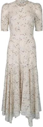 Veronica Beard White Balsam Dress