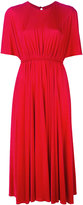 Valentino pleated midi dress - women - Viscose - 42