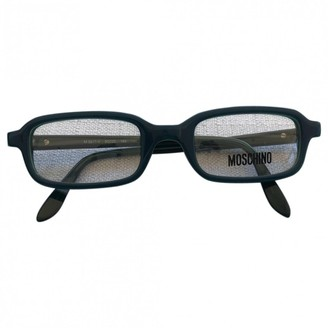 Moschino Green Plastic Sunglasses
