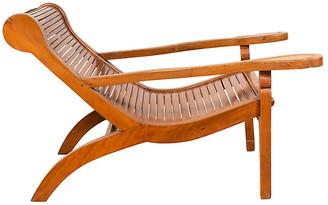 One Kings Lane Vintage Dutch Colonial Plantation Lounge Chair - FEA Home