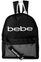 Bebe Melodia Leather Trim Mini Backpack