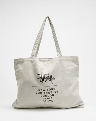 Stussy City Stack Tote Bag