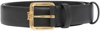 Burberry Leather Monogram Motif Belt