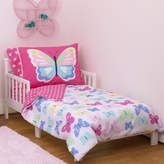 Carter's Butterflies 4 Piece Toddler Bedding Set