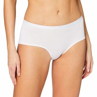 Emporio Armani Women's Visibility-Basic Cotton Culotte Hipster