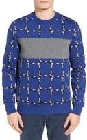 Lacoste Men's L!ve Net Graphic Sweatshirt