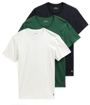 Polo Ralph Lauren Men's 3-Pack Crewneck T-Shirts