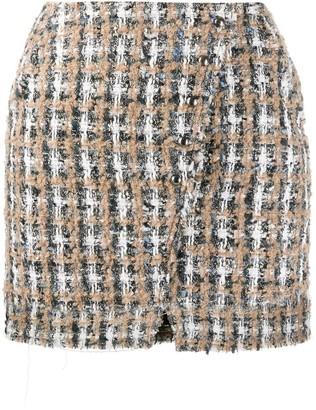 IRO Tweed Wrap Skirt